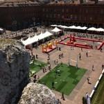 Toulouse village rugby : la place du capitole